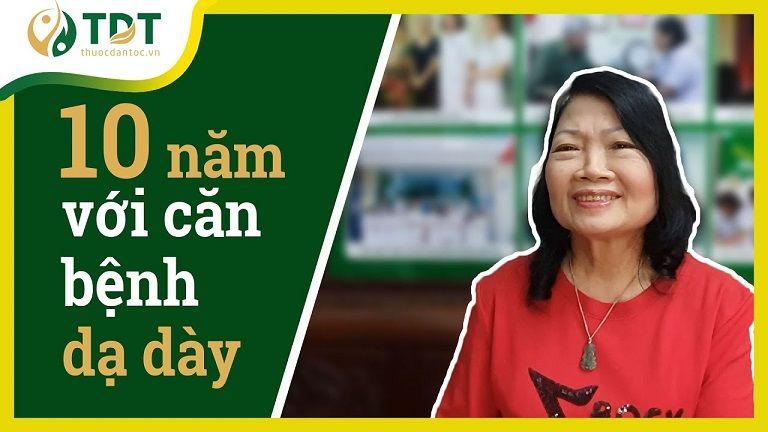 Cô Minh Hiền đã chữa khỏi bệnh dạ dày nhờ Sơ can Bình vị tán