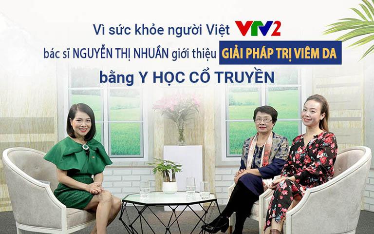 Bác sĩ Nguyễn Thị Nhuần và diễn viên Vân Anh góp mặt trong chương trình Vì sức khoẻ người Việt