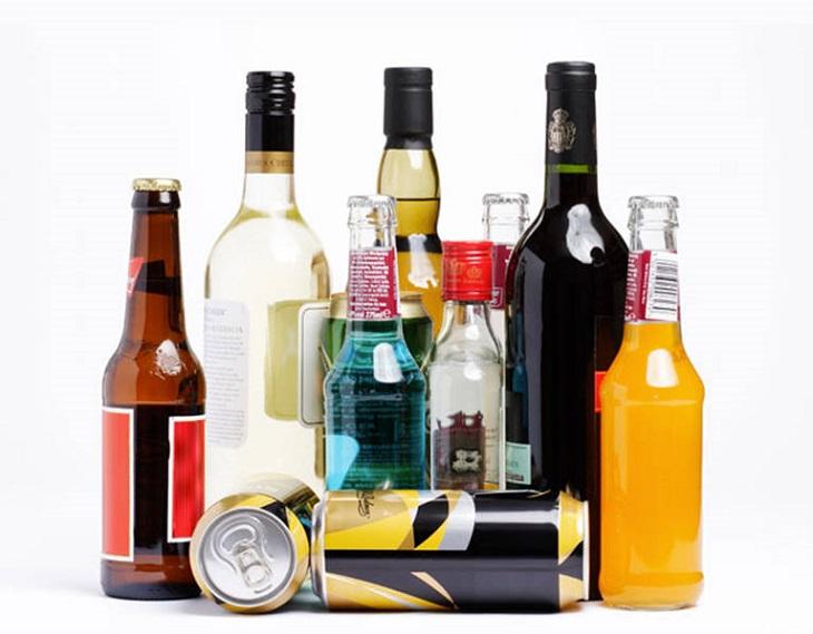 Rượu, bia và chất kích thích tổn thương chức năng tạng
