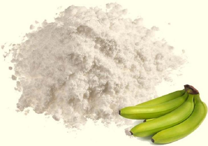 Bột chuối xanh giúp ổn định hàm lượng các chất và giúp nâng cao điều trị
