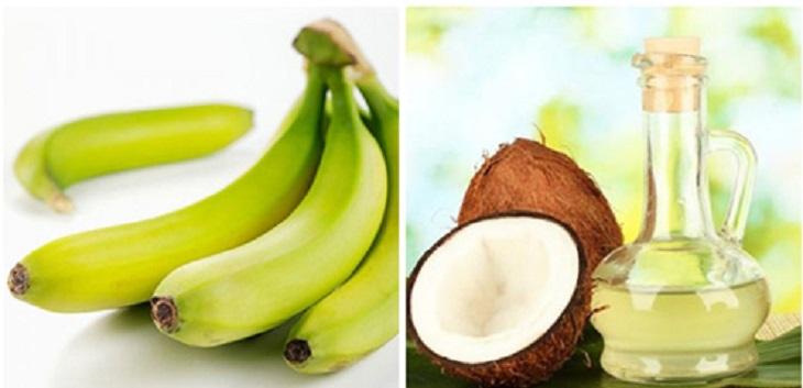 Cách chữa bệnh chàm bằng chuối xanh kết hợp với dầu dừa làm tăng khả năng điều trị và phục hồi bệnh