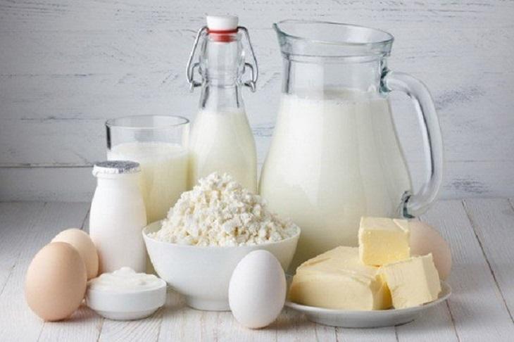 Sữa và các chế phẩm từ sữa kích thích, tăng tình trạng viêm