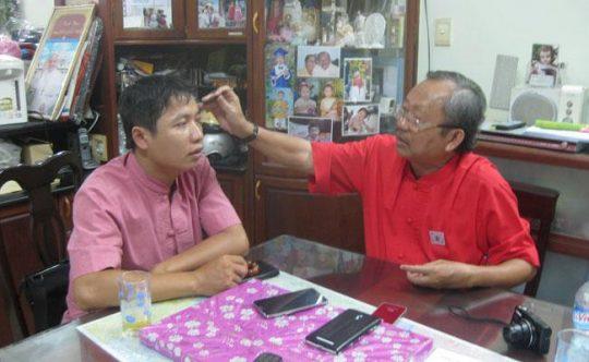 Giáo sư Bùi Quốc Châu là cha đẻ của phương pháp chữa vảy nến bằng diện chẩn