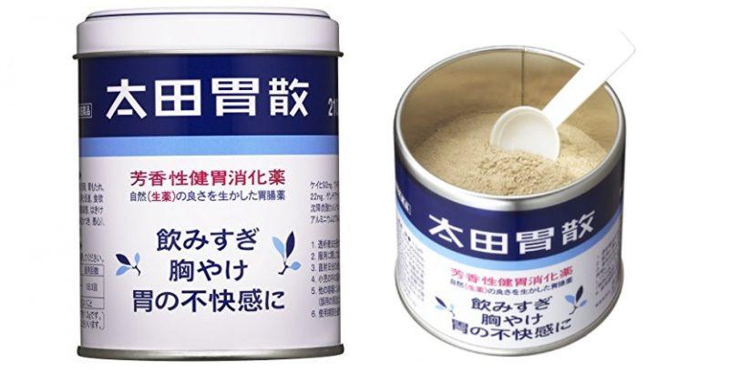 Ohta's Isan là thuốc dạ dày của Nhật dạng bột
