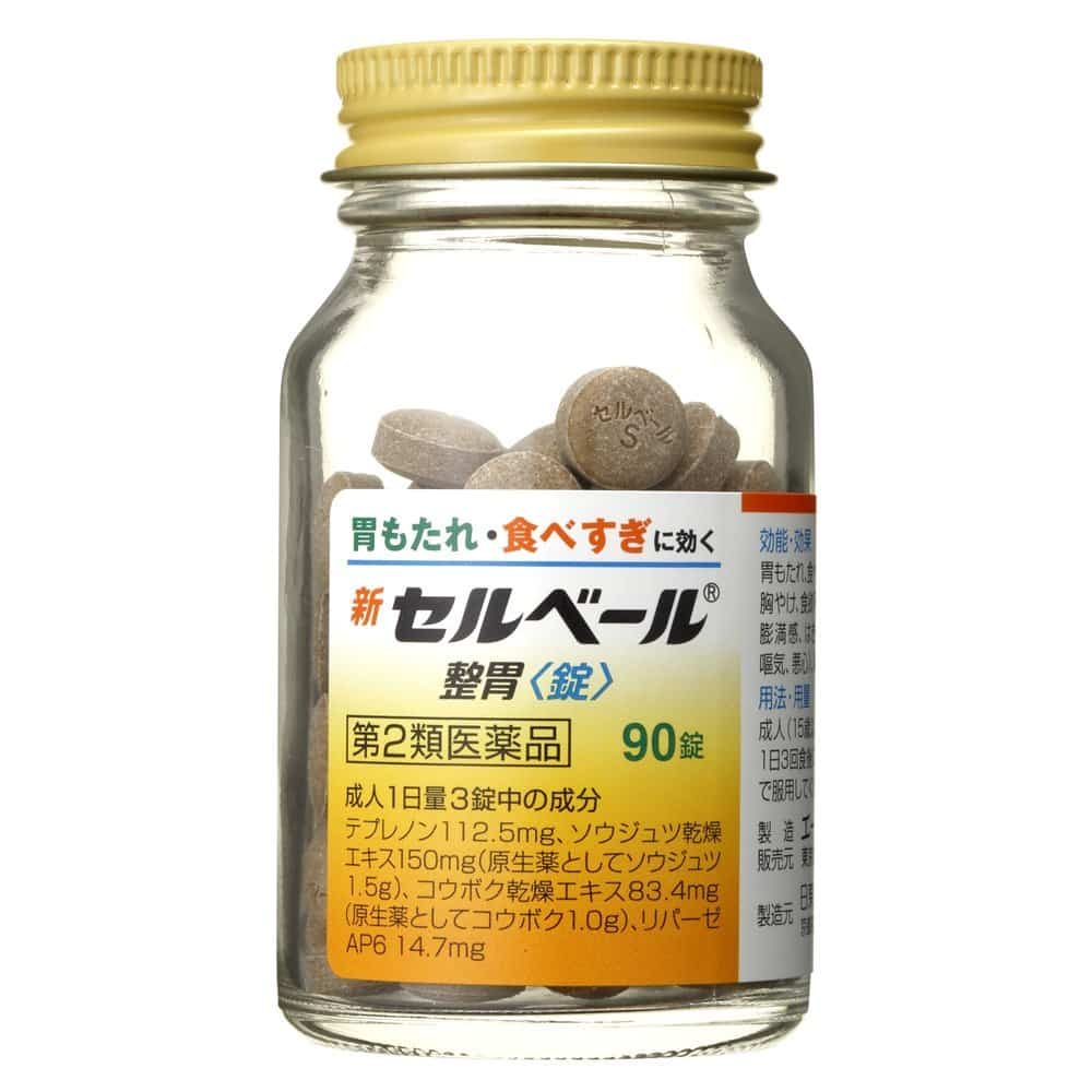 Sebuberu Eisai - Dòng thuốc dạ dày của Nhật dạng viên được sử dụng nhiều