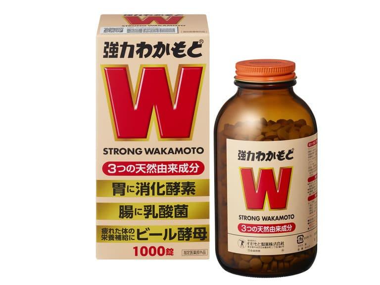 Strong Wakamoto là lựa chọn phổ biến điều trị dạ dày tại Nhật
