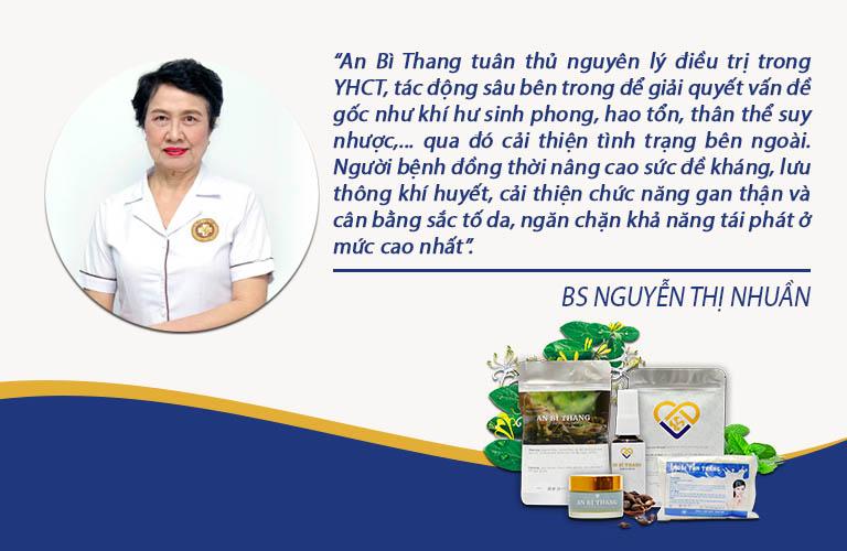 Bác sĩ Nguyễn Thị Nhuần đánh giá An Bì Thang trong chương trình Vì sức khoẻ người Việt