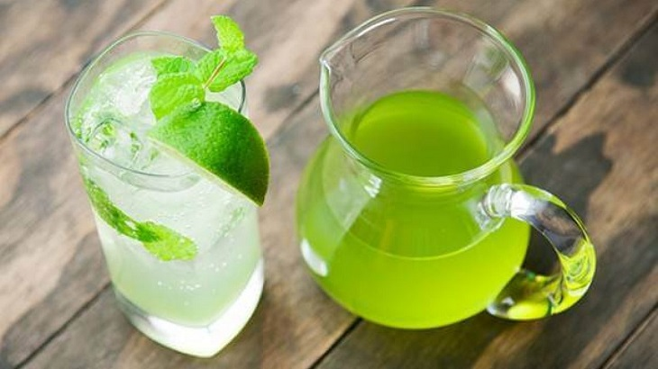Nước ép bạc hà giúp dịu họng, giảm đau rát