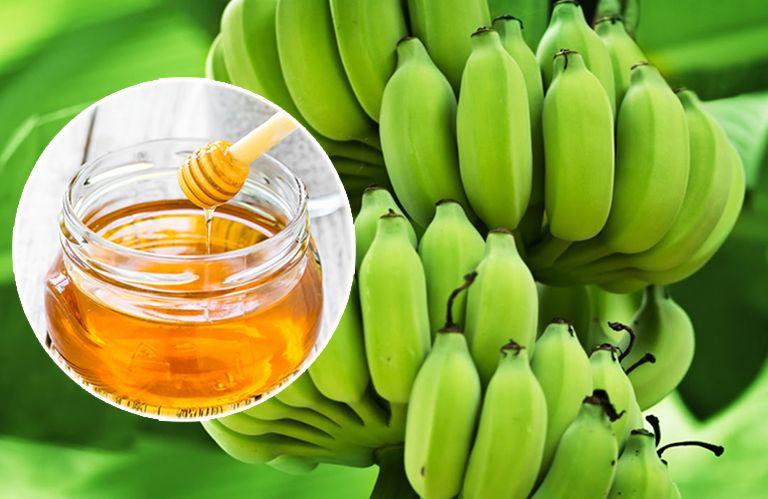 Chữa đau dạ dày bằng chuối xanh và mật ong cho hiệu quả tốt