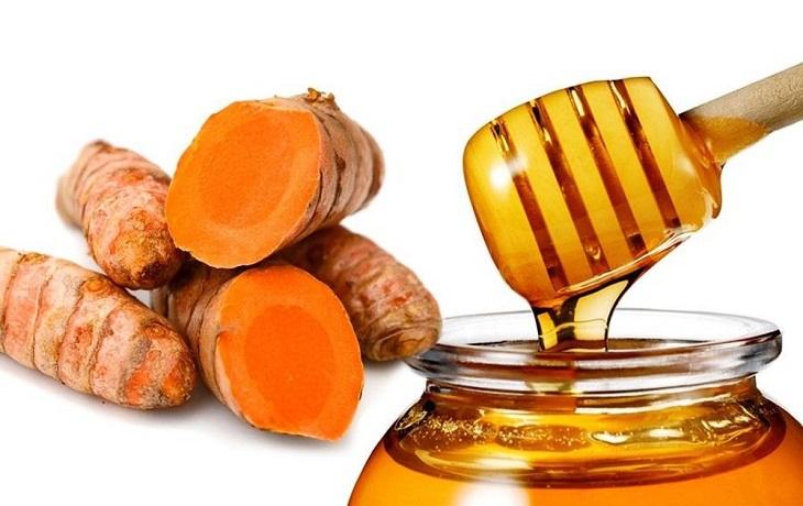Chữa đau dạ dày bằng nghệ tươi và mật ong rất hiệu quả