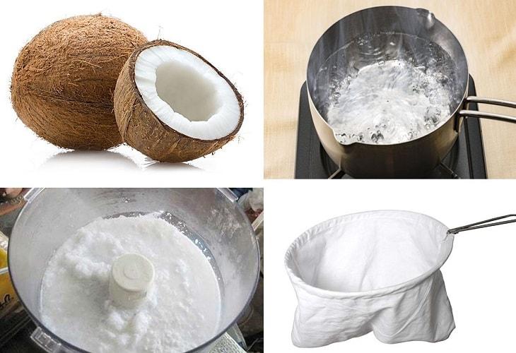 Cách làm dầu dừa khá đơn giản và sử dụng nhiều lần