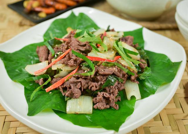Các món ăn từ lá lốt rất tốt cho sức khỏe người bệnh viêm da cơ địa