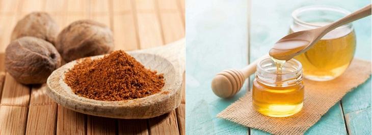 Trị eczema bằng hạt nhục đậu kết hợp với mật ong làm tăng khả năng chống viêm và kháng khuẩn