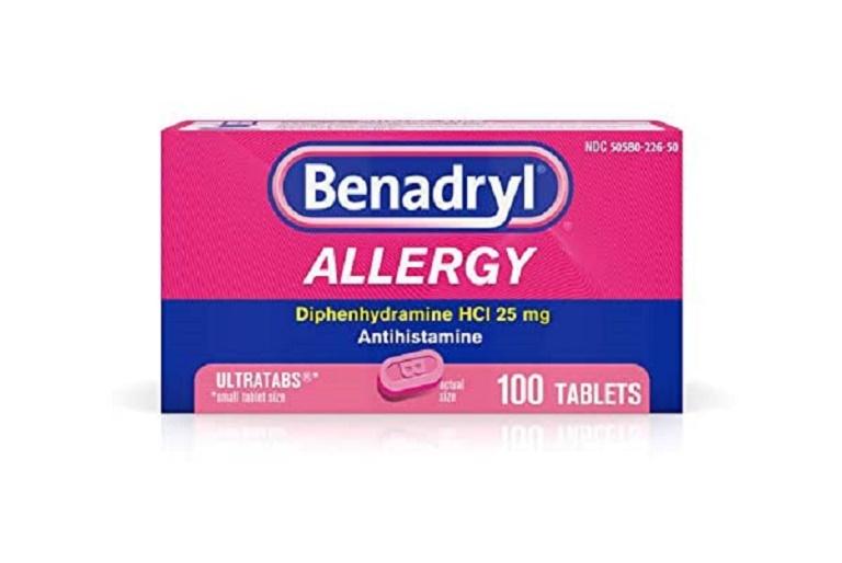 Thuốc bôi viêm da dị ứng Benadryl