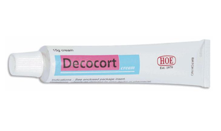 Kem bôi trị viêm da dị ứng Decocort Cream
