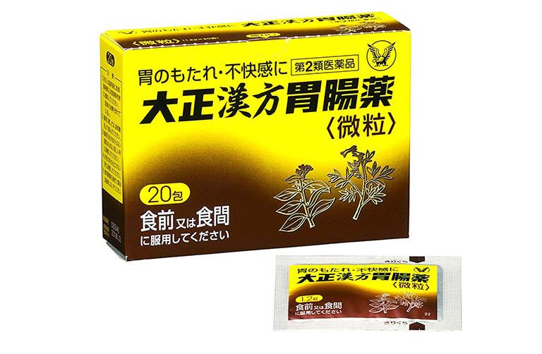 Sản phẩm thuốc trị đau dạ dày của Nhật Taisho Kampo ở dạng bột