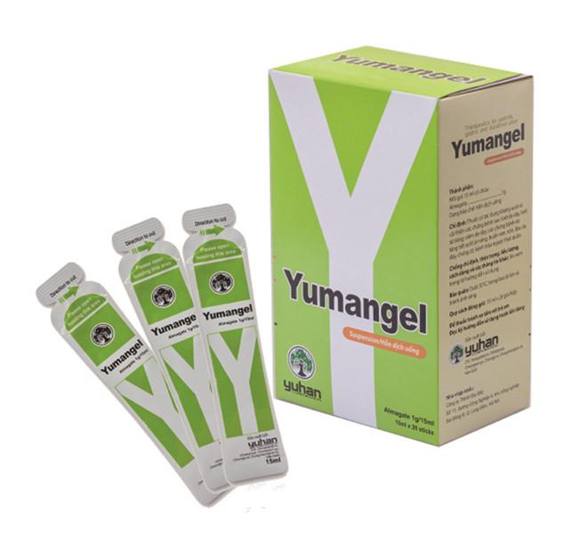 Cách dùng và liệu lượng khi sử dụng thuốc chữa đau dạ dày Yumangel