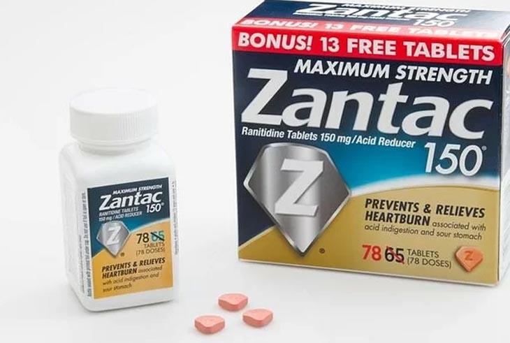 Thuốc chữa đau dạ dày Mỹ Zantac