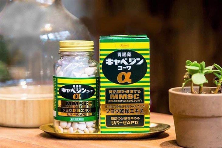 Thuốc đau dạ dày Nhật Bản Kyabeijin MMSC Kowa
