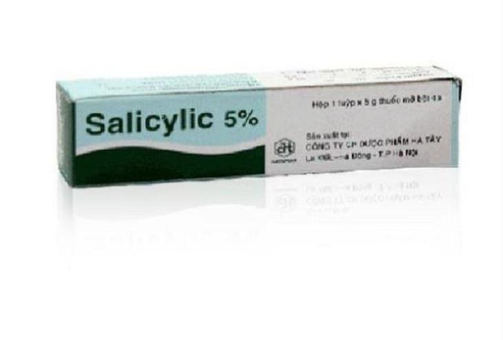 Thuốc trị chàm khô chứa Salicylic