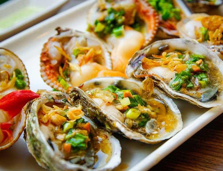 Hải sản, đồ ăn tanh có chứa nhiều chất kích thích phản ứng gây dị ứng