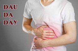 Vị trí đau dạ dày thường ở đau trên bụng?