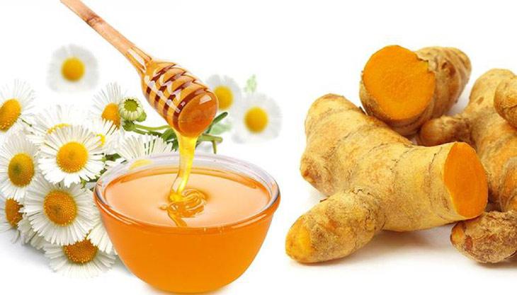 Mật ong và nghệ giúp cải thiện các vị trí đau dạ dày