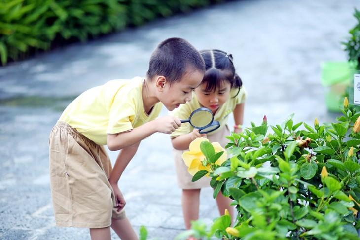 Hạn chế tiếp xúc với cây cối vào thời tiết ẩm đề phóng bệnh viêm da tiếp xúc ở trẻ em