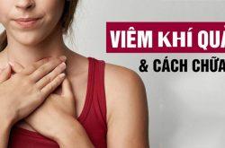 Viêm khí quản là bệnh về đường hô hấp dưới