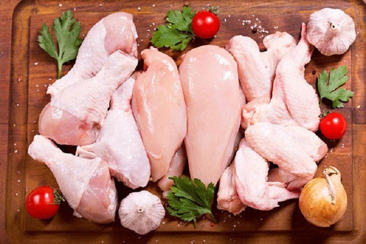 Bạn nên lựa chọn những loại thịt gà mềm dễ nuốt dễ dàng ăn