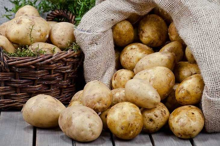 Khoai tây có công dụng trị mụn thâm đỏ hiệu quả