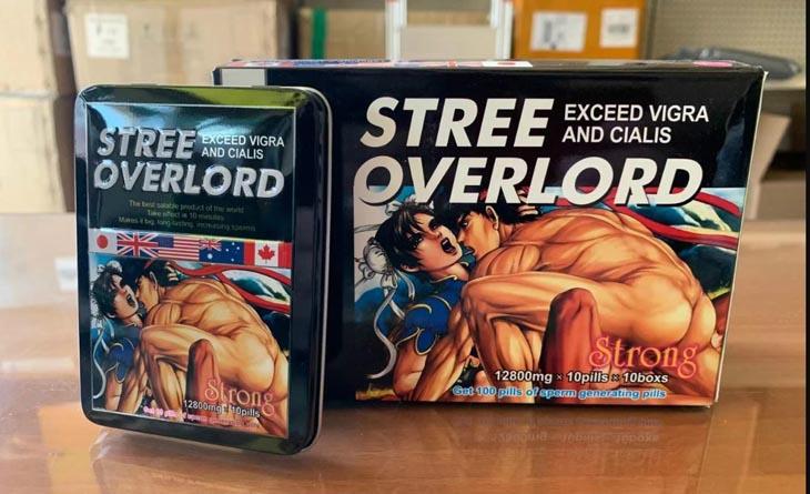 Thực phẩm tăng cường sinh lý nam Stree Overlord