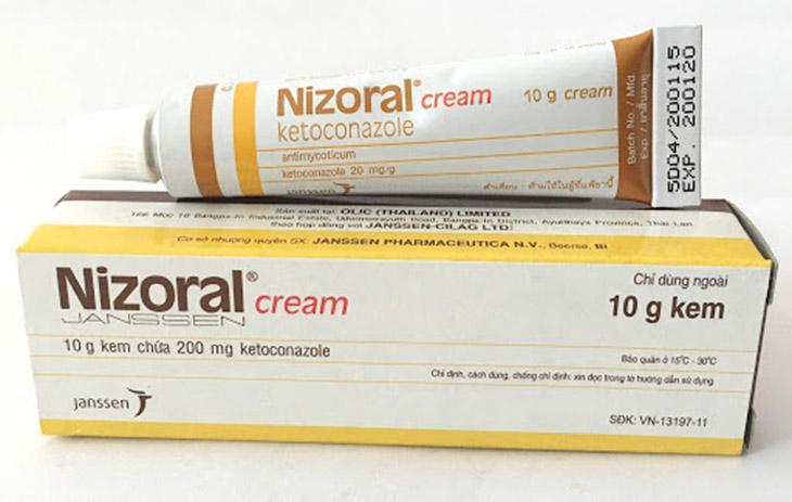 Bên cạnh viên đặt hay thuốc uống, kem bôi Nizoral cũng là lựa chọn phù hợp với chị em