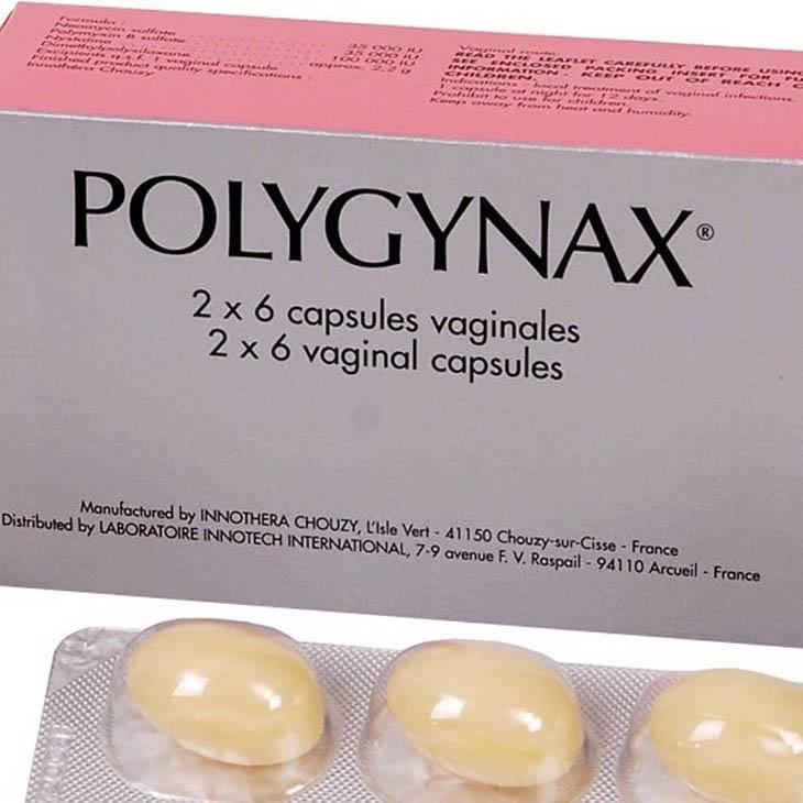 Thuốc chữa viêm âm đạo Polygynax