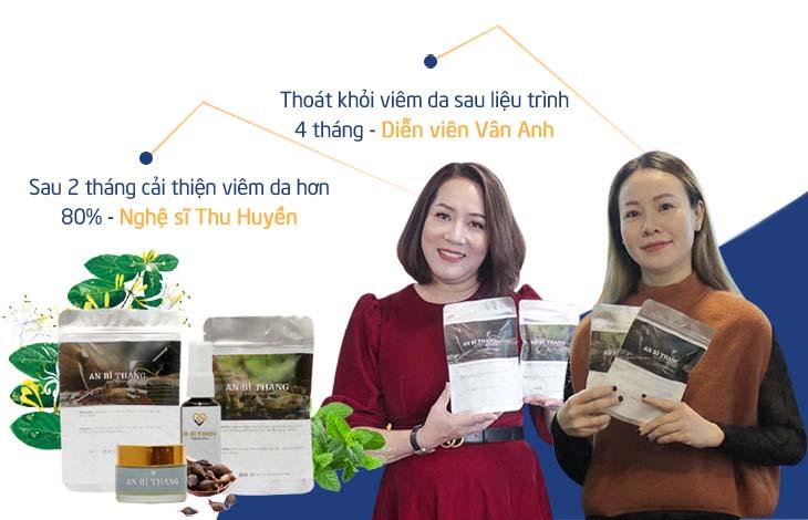 Kết quả điều trị của diễn viên Vân Anh và Thu Huyền với bài thuốc An Bì Thang