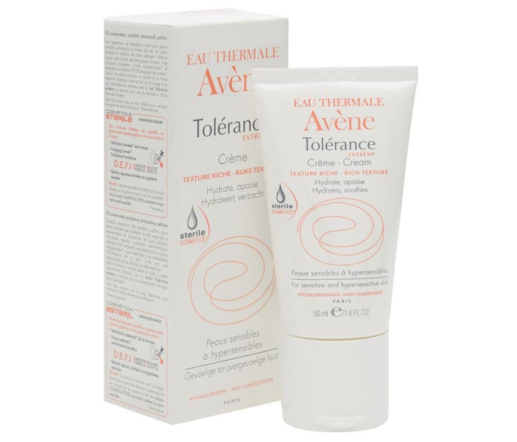 Da nhiễm corticoid nên dùng gì? - Tolerance Cream Avene