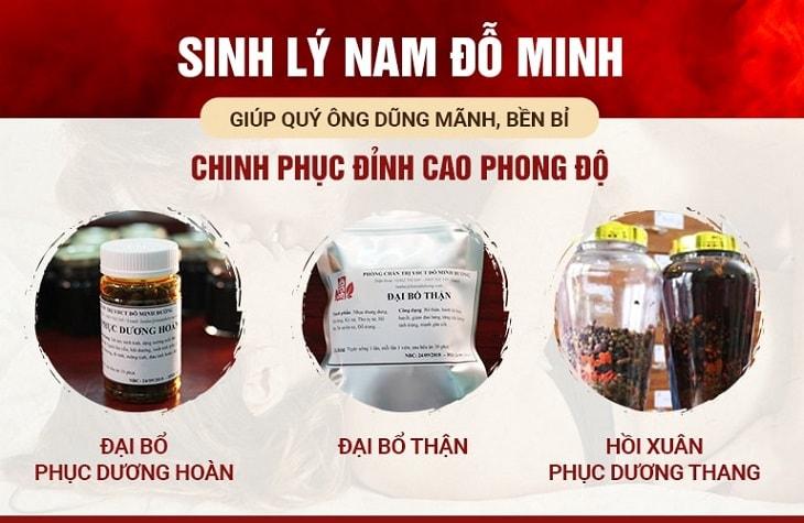 3 chế phẩm trong bài thuốc chữa xuất tinh sớm của Đỗ Minh Đường