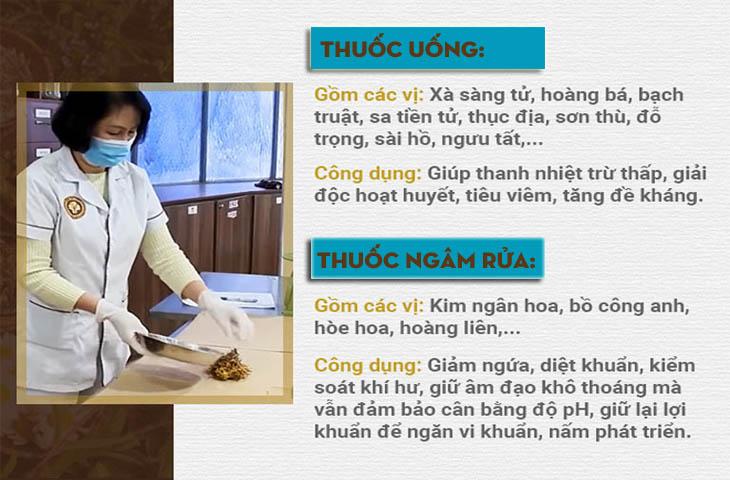 Bài thuốc chữa viêm âm đạo của bác sĩ Đỗ Thanh Hà