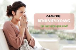 Tìm hiểu các cách trị bệnh viêm xoang tại nhà hiệu quả