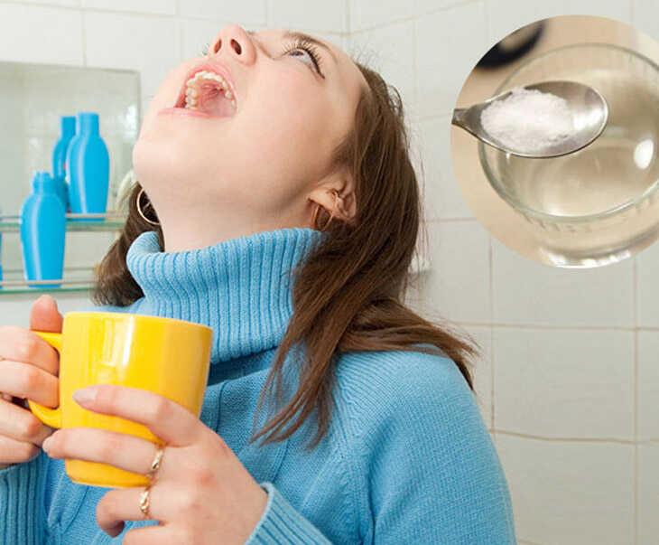 Súc miệng thường xuyên bằng nước muối đẩy lùi viêm amidan nhanh chóng