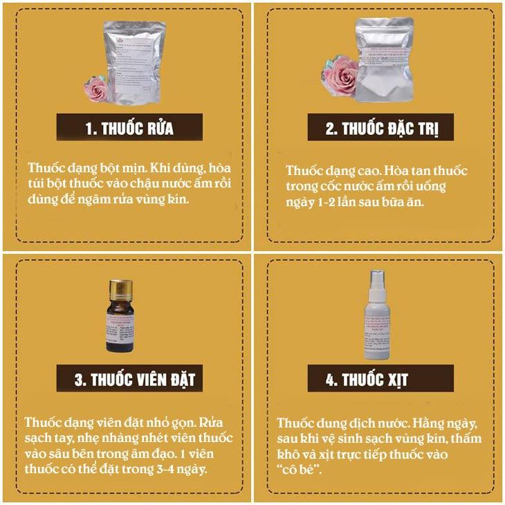 Cách sử dụng bài thuốc Phụ Khang Đỗ Minh
