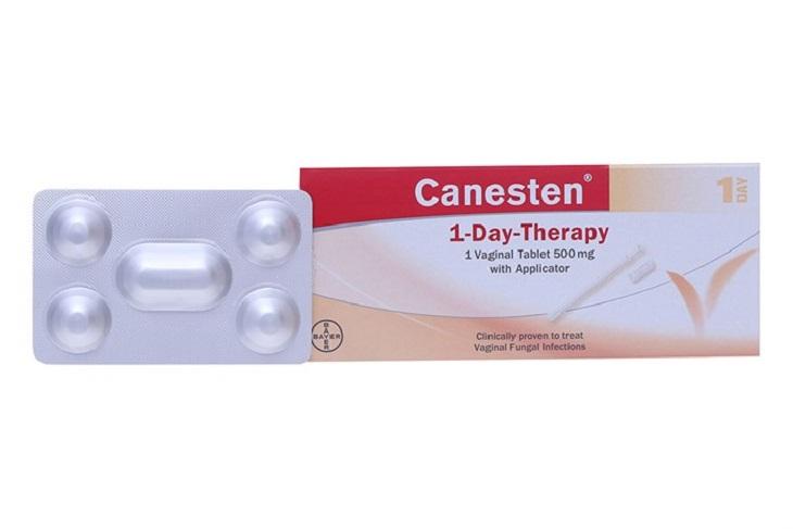 Thuốc đặt Canesten