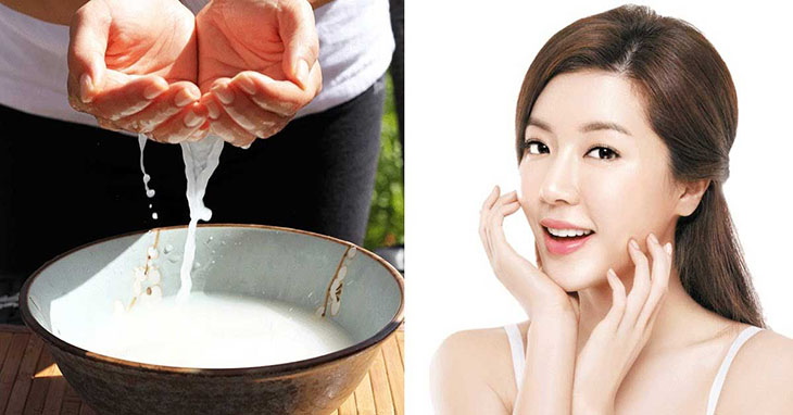 Hỗn hợp nghệ và nước vo gạo giúp điều trị tình trạng mụn hiệu quả