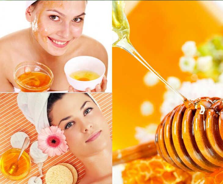 Mật ong chứa chất chống oxy hóa giúp làm đẹp da và trị mụn nhanh chóng