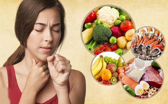 Bị đau họng nên ăn gì, không nên ăn gì giúp bệnh nhanh khỏi