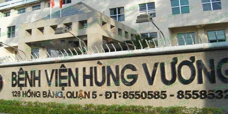 Bệnh viện Hùng Vương TP HCM