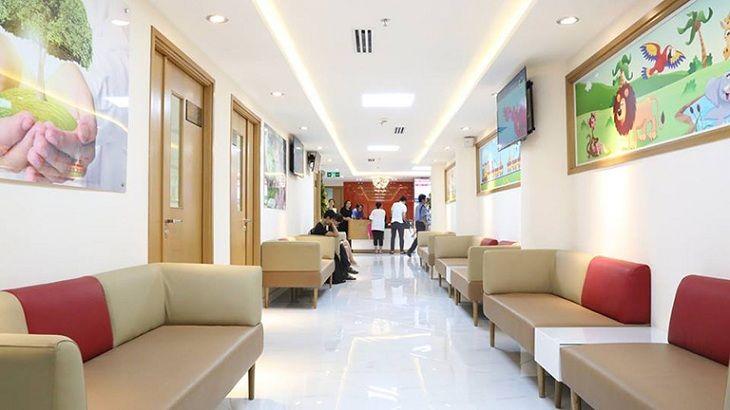 Bệnh viện phụ sản quốc tế Sài Gòncó không gian sạch sẽ, thoáng mát, dịch vụ khám chữa bệnh nhanh gọn