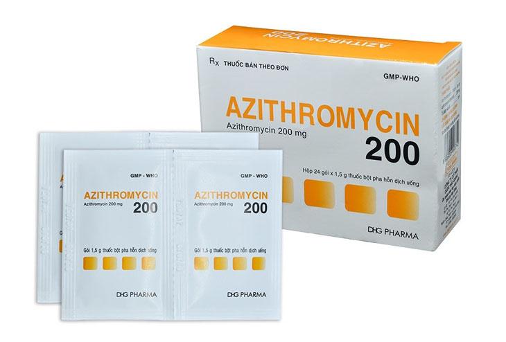 Azythromycin thường được chỉ định cho bệnh nhân viêm xoang