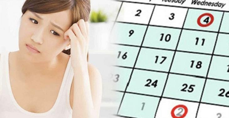 Rối loạn chu kỳ kinh nguyệt là triệu chứng thường gặp ở phụ nữ tiền mãn kinh