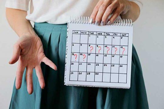 Rong kinh sau khi cấy que tránh thai có đáng lo ngại?